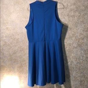 Sharagano Dresses - Sharagano size 16 Royal blue classic styled dress